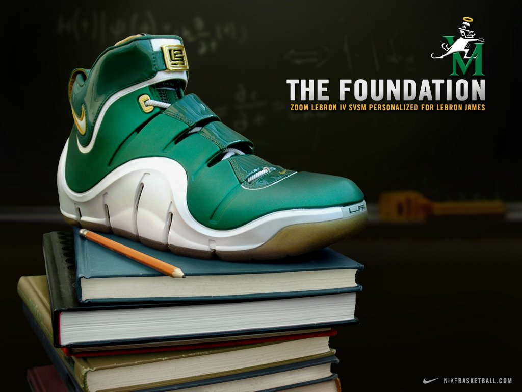 Nike Zoom LeBron IV SVSM and Wallpaper