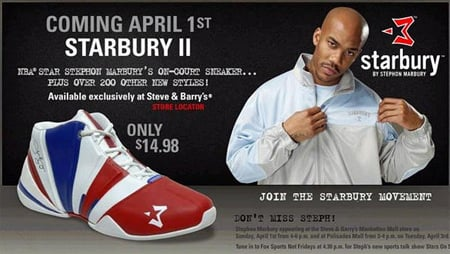 New Stephon Marbury Starbury II