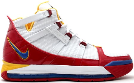 Nike LeBron III Superman PE 2nd Version