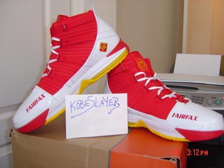 Nike LeBron III Fairfax PE