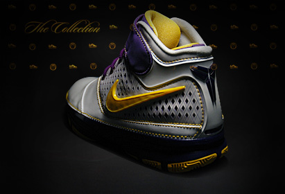 Nike Zoom Kobe II Laker Colors
