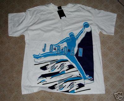 Air Jordan VIII Aqua Sample Shirt