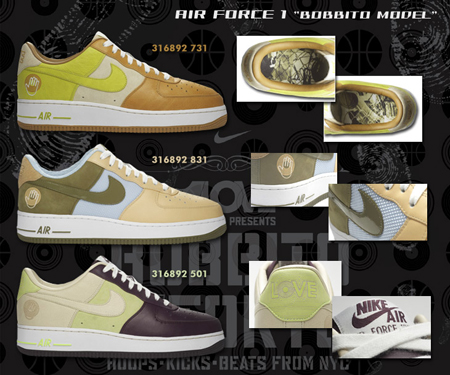 Nike Air Force 1 Bobbito All 3