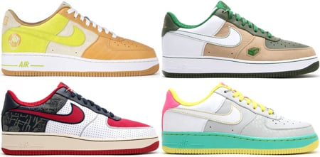 Nike Air Force 1 Release Dates Updated April