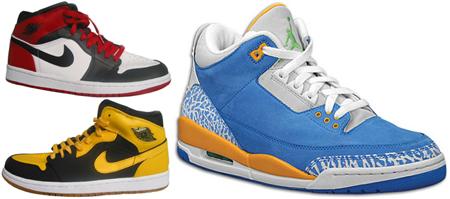 Air Jordan 3 DTRT and OLNL at Jumpmansneakers