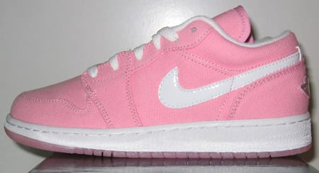 Air Jordan Retro 1 Low Real Pink/White