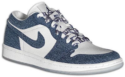Air Jordan Release Dates Retro 1 I Denim White Womens Low