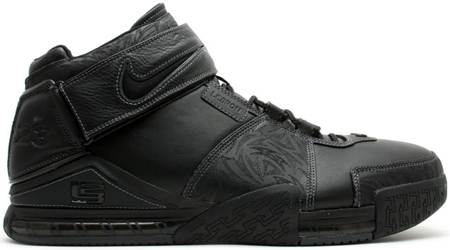 Nike LeBron II Black/Black-Light Graphite PE