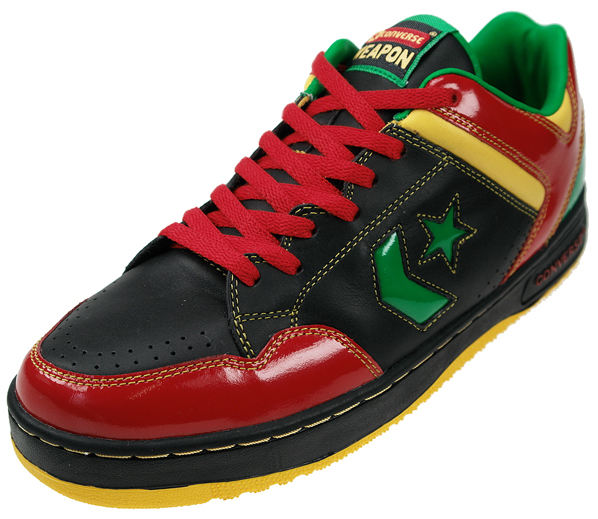 Converse Weapons Brazil and Jamaica