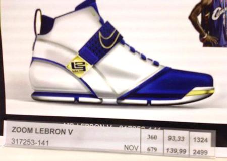 Nike Zoom LeBron V First Look