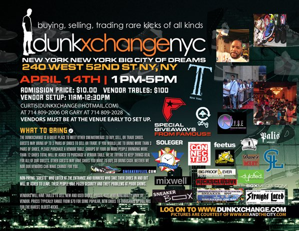 Dunkxchange NYC April 14th 2007