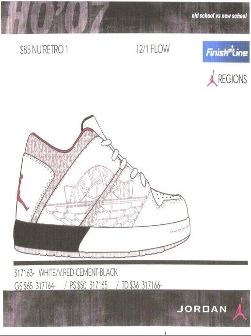Air Jordan Holiday 2007 Catalog Preview