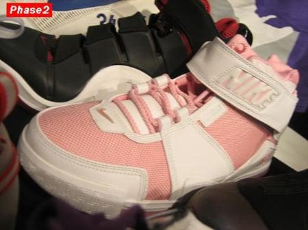 Nike LeBron II White/Pink PE