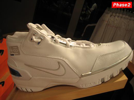 Nike LeBron I AZG White/Silver PE