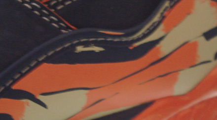 Air Jordan Retro VIII Midnight Navy/Orange Blaze-Peapod