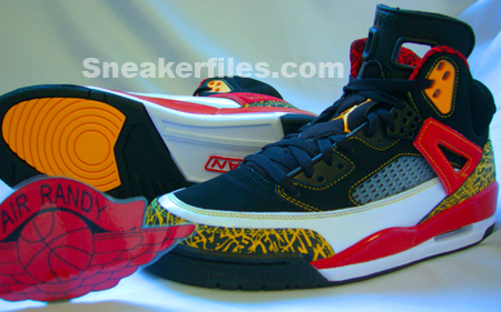 Air Jordan Spizike White/Black-Varsity Red-Mazie Yellow