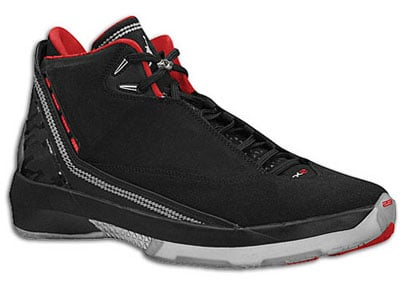Air Jordan Release Dates Black/Varsity Red-Metallic Silver XX2