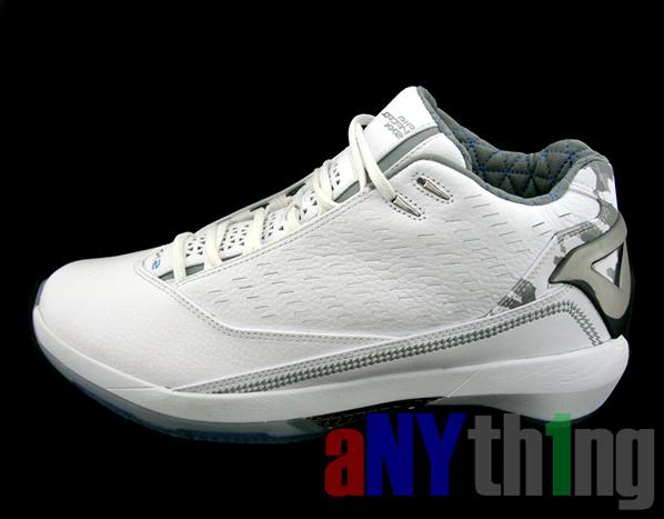 Air Jordan XX2 5/8 White/Orange Closer look