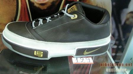 Nike Zoom LeBron Low ST Black/Grey-Gold