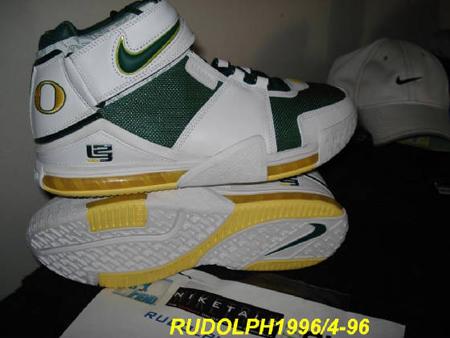 Nike LeBron II Oregon State PE