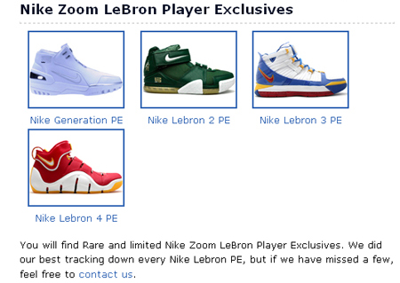 Nike Lebron PE Section Officially Launches  7e6b366afc43