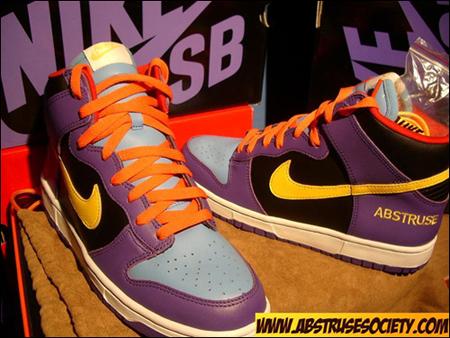 Nike Dunk High Abstruse Society
