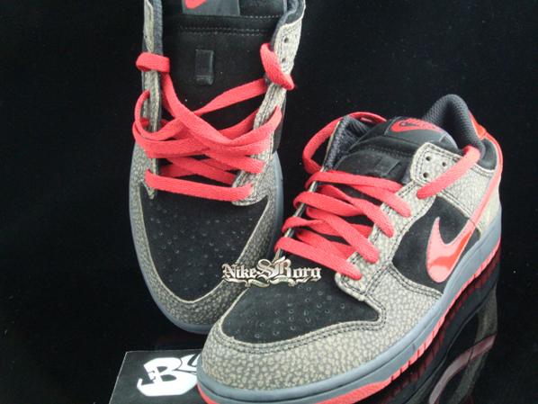 Nike Dunk Low PL Red - Print