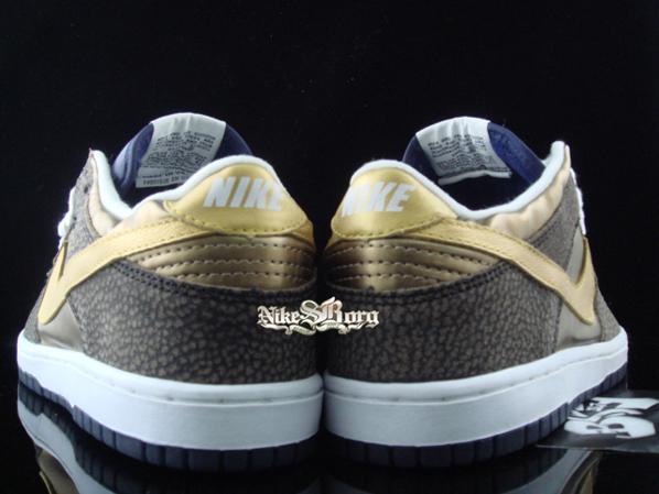 Nike Dunk Low True Blue/Gold Safari