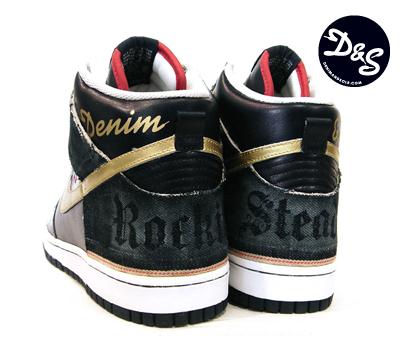 Nike Dunk High X Denim And Sole X Sbtg Sneakerfiles