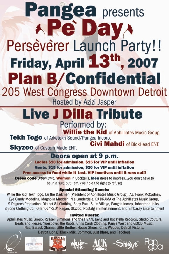 Perseverer Release Party