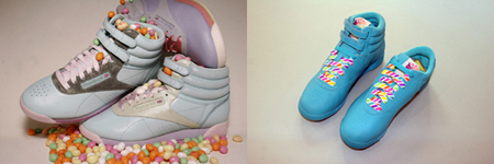 Reebok Freestyle Easter Egg