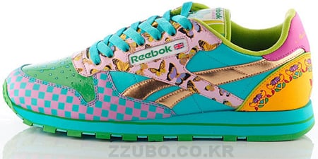 Reebok Leather CL Asia Campaign