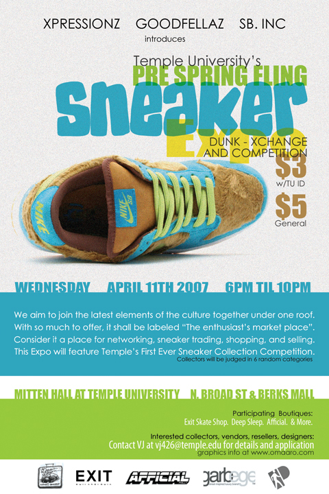 Pre Spring Fling Sneaker Expo