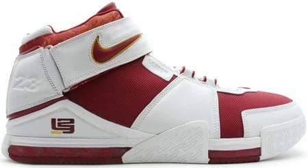 be59c1760ef33 Nike LeBron II varsity crimson varsity maize-white PE