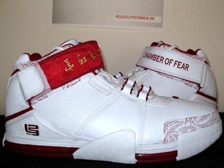Nike LeBron II Chamber of Fear Low PE