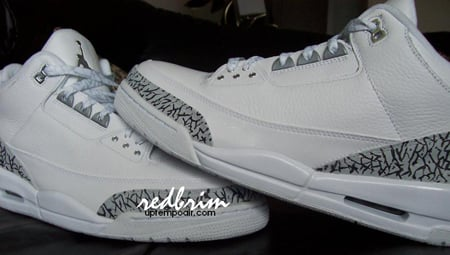 Air Jordan Retro III Pure Custom