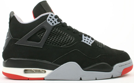 Air Jordan IV Black/Cement Rumor 2008