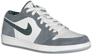 Air Jordan 1 Low White/Dark Forest-Light Graphite North Side