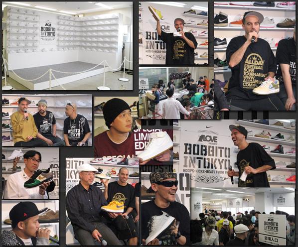 1Love Presents Bobbito in Tokyo at Ueno