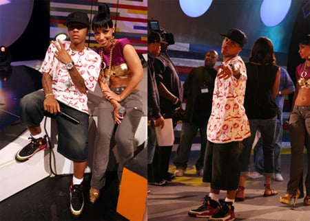 bow wow and ciara. Bow Wow in Air Jordan Spizike