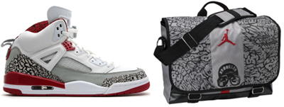 Air Jordan Spizike White/Grey-Fire Red