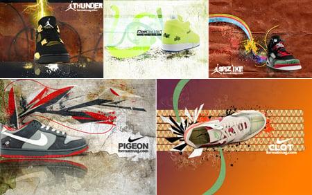 Sneaker Wallpapers Set 2007