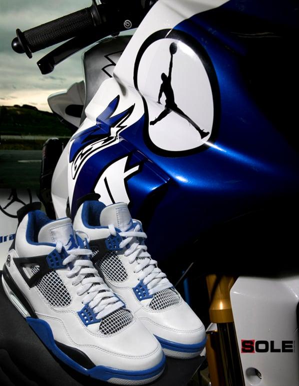 Air Jordan Retro IV MJ Motorsports