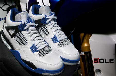 Air Jordan Retro Iv Mj Motorsports Sneakerfiles