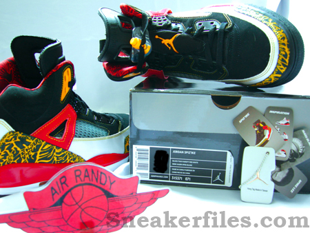 Air Jordan Spizike Kings County and Accessories