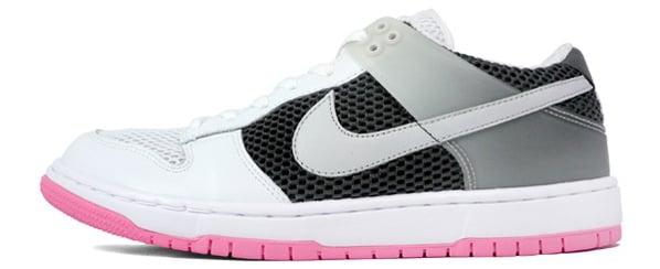 Nike Air Zoom Dunkesto White/Black/Pink