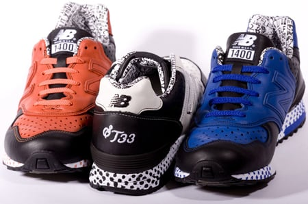 New Balance 1400 Super Team 33 Fanzine Collection