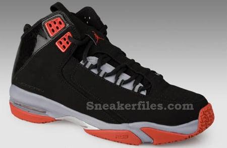 Air Jordan High Rise Black/Red
