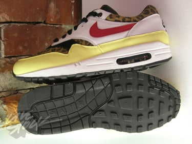 New Nike Air Max 1 Yellow Safari