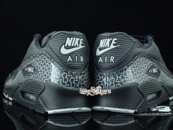 Nike Air Max 90 Black/Gray Violet Print